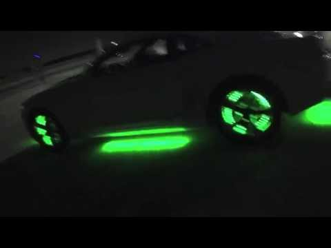 2012 Chevy Camaro with LEDGLOW underglow and wheel well glow
