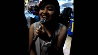 """a simple girl sings """"kung pwede lang"""""""