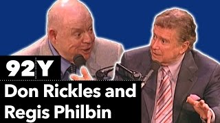 Don Rickles in conversation with Regis Philbin