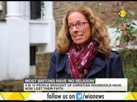 Most people in Britain have 'no religion'