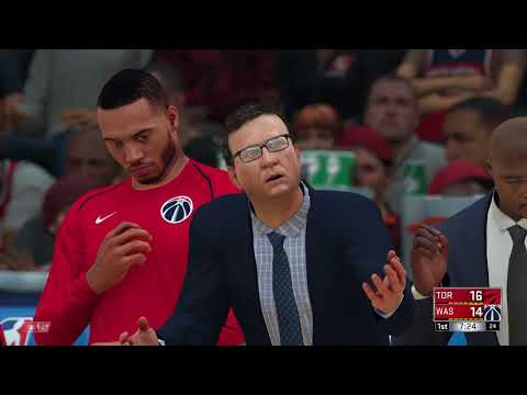 NBA 2K18 Eastern Conference Playoffs 1st Round Toronto Raptors vs Washington Wizards Game 6