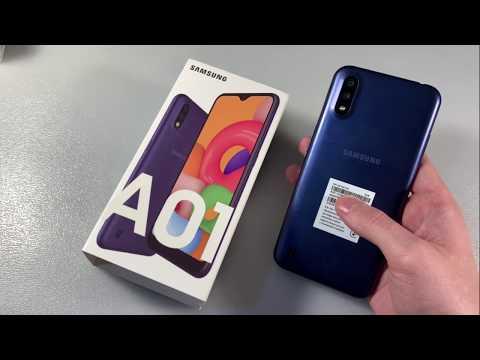Обзор Samsung Galaxy A01 (A015F)