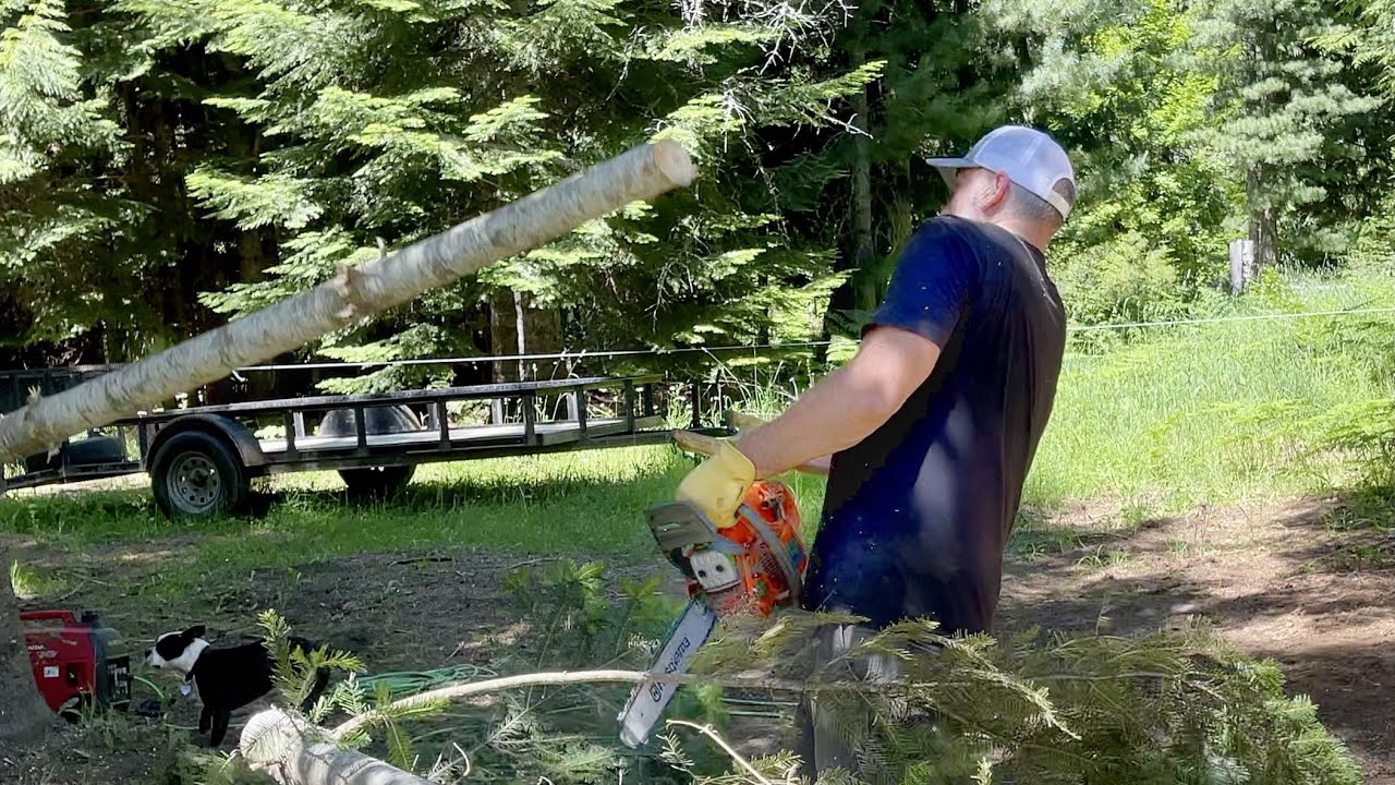 OH NO! - Chainsaw Fail - NOT SMART