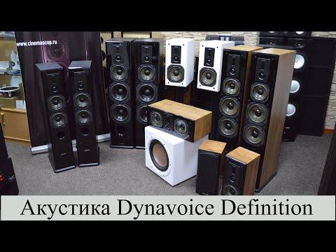 Шведская акустика Dynavoice Definition - обзор всей серии