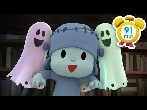 😱 POCOYO in ENGLISH - The Haunted House [ 91 min ]   Full Episodes   VIDEOS and CARTOONS FOR KIDS