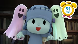 POCOYO in ENGLISH  The Haunted House [ 91 min ] | Full Episodes | VIDEOS and CARTOONS FOR KIDS