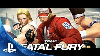 THE KING OF FIGHTERS XIV -  Team Fatal Fury Trailer | PS4