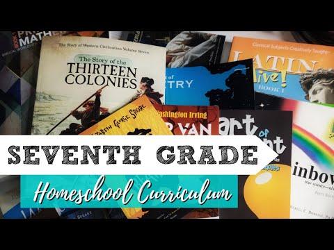 8th Grade Homeschool Curriculum Choices 2019-2020 - YouTube