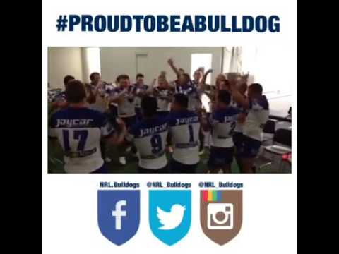 Bulldogs Winning Song after beating Warriors rd 6