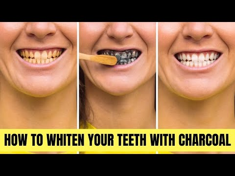 How to Whiten Your Teeth With Charcoal | Healthy Living Tips