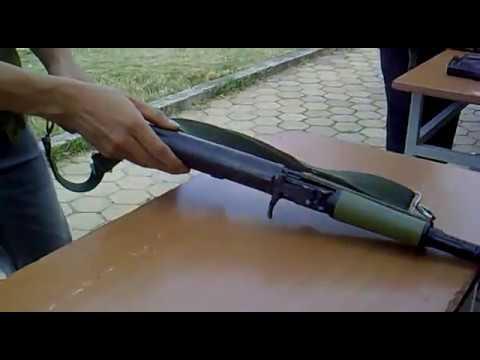 tháo lắp súng AK