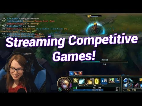 Streaming Competitive Games   Twitch Tips #62 w/ SCf3