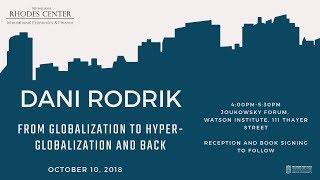 Baixar Dani Rodrik – From Globalization To Hyper-Globalization and Back