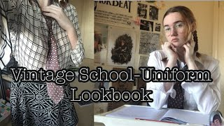 Vintage School Uniform-Inspired Lookbook | Lookbook #30 | miss brittany
