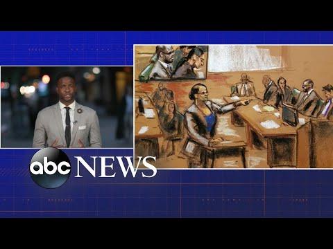 Dramatic Testimony On Day 1 Of R. Kelly Trial
