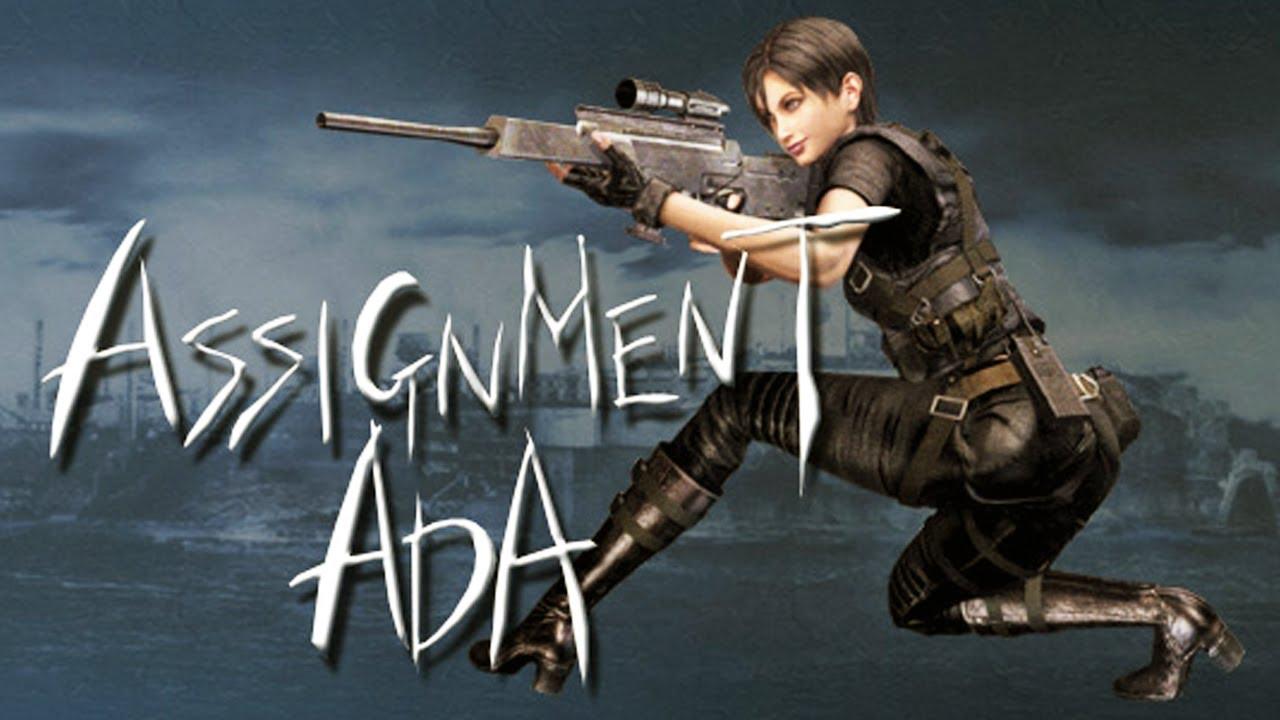 Resident evil 4 assignment ada