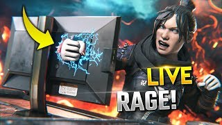 Streamer DESTROYS HIS MONITOR!! *RAGE* | Best Apex Legends Funny Moments and Gameplay - Ep. 357