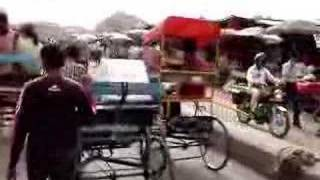 Rickshaw Ride Down Chandni Chowk, Delhi