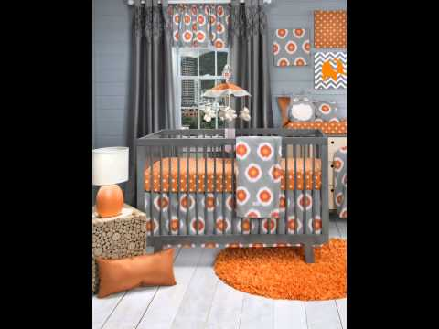 Sweet Potato Crib Bedding Set, Rhythm, 3 Piece