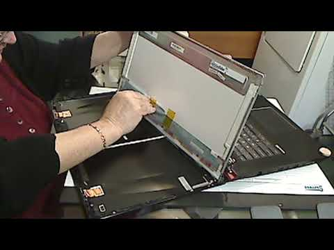 Laptop screen replacement MSI GE72 6QD Apache Pro (Part 1)