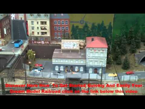 Marklin central station: The best Model railroad | Make the most beautiful model railway  click here