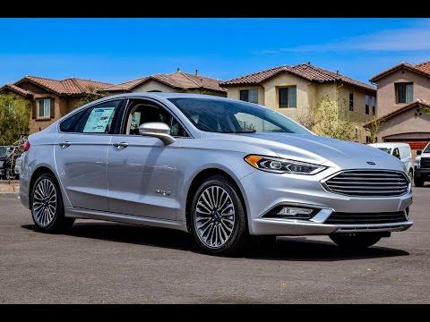 2017 Ford Fusion SE Hybrid Walkaround