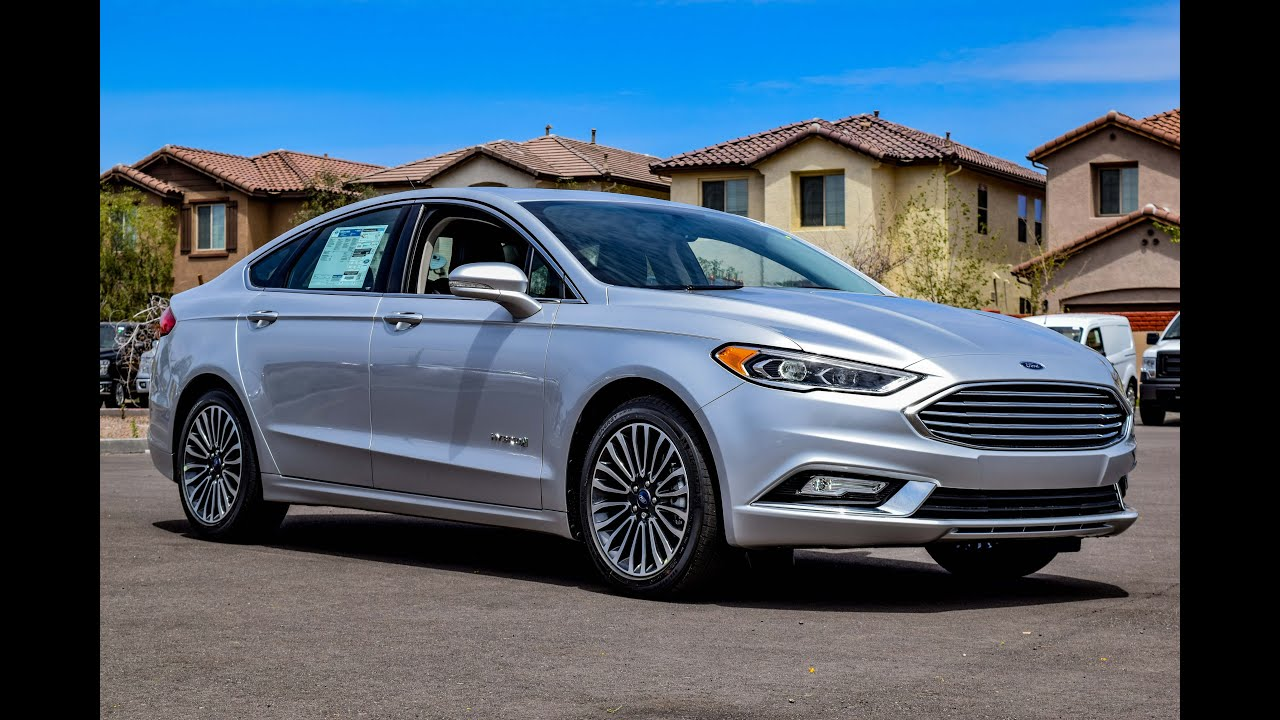 Lastest 2017 Ford Fusion SE Hybrid Walkaround  YouTube
