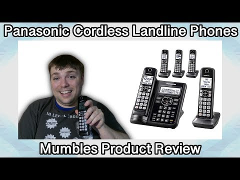 Panasonic LandLine Phone - Best Phone Ever? - MumblesVideos Product Review