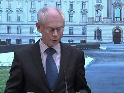 "EU president condemns ""brutal aggression"" in Libya"