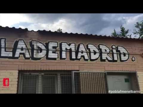 San Martín de Porres, el campo de tierra de la EF Villa de Madrid