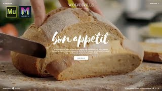 Restaurant Template | Adobe Muse CC | Muse For You