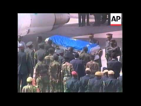 ZIMBABWE: BODY OF LAURENT KABILA LEAVE FOR DR CONGO