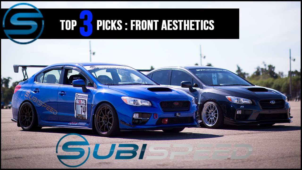 subispeed top 3 picks front aesthetic mods youtube