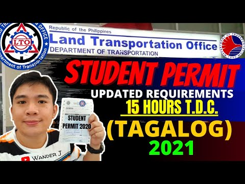 LTO STUDENT PERMIT | UPDATED REQUIREMENTS, QUALIFICATIONS & STEPS GUIDE | JANUARY 2021 | TAGALOG