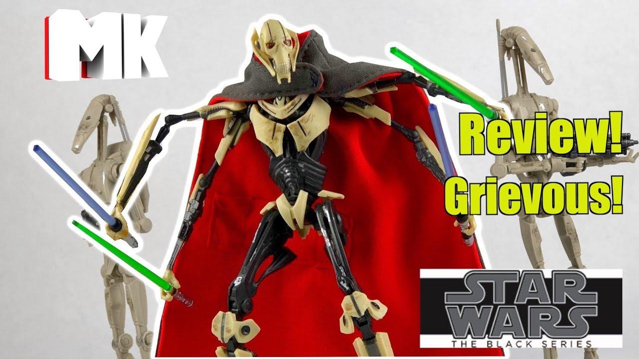 "GENERAL GRIEVOUS  #D1 STAR WARS BLACK SERIES 6/"""