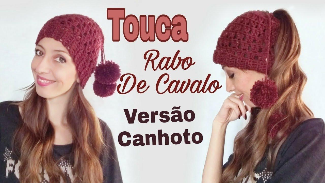 db5f2dafb2328 Versao Canhoto Touca ( Rabo de Cavalo) - YouTube