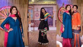 nida yasir showing punjab culture in her morning show good morning pakistan