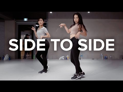 開始Youtube練舞:Side to Side-Ariana Grande | 鏡像影片