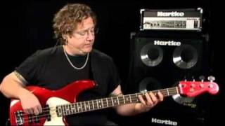 Bass Guitar Lessons - Fretboard Fitness - #3 Modes & Scales - Stu Hamm