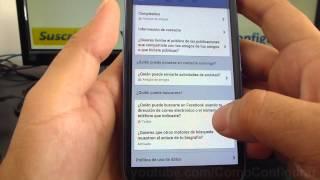 Configurar quien puede buscarme en facebook android samsung galaxy s3 español