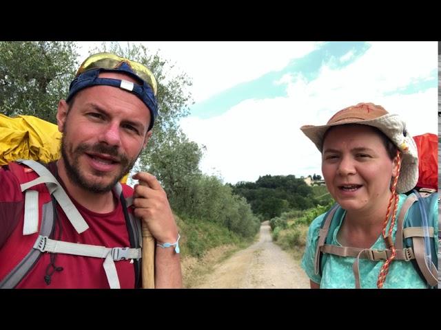 Via Francigena 2020 - 13 da San Miniato a Gambassi Terme