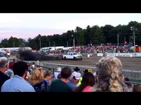 Washington County Fair 4x4 Diesel Truck Pulls