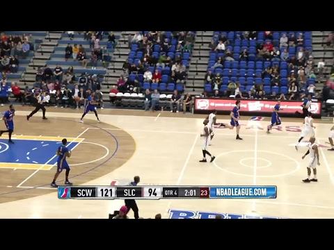 Highlights: Joel Bolomboy (17 points)  vs. the Warriors, 1/27/2017
