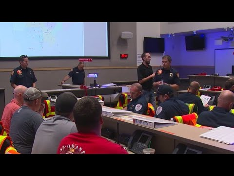 Volunteers cover firefighter shifts during Chief Burchett's funeral