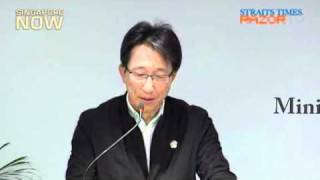 Lim Swee Say on the labour movement in singapore (Mandarin) Part 1/2