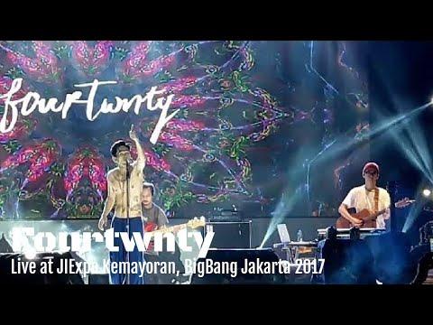 Fourtwnty - Aku Tenang (Live BigBang jakarta 2017 JIEXPO Kemayoran