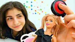 видео Игра Барби: причёски