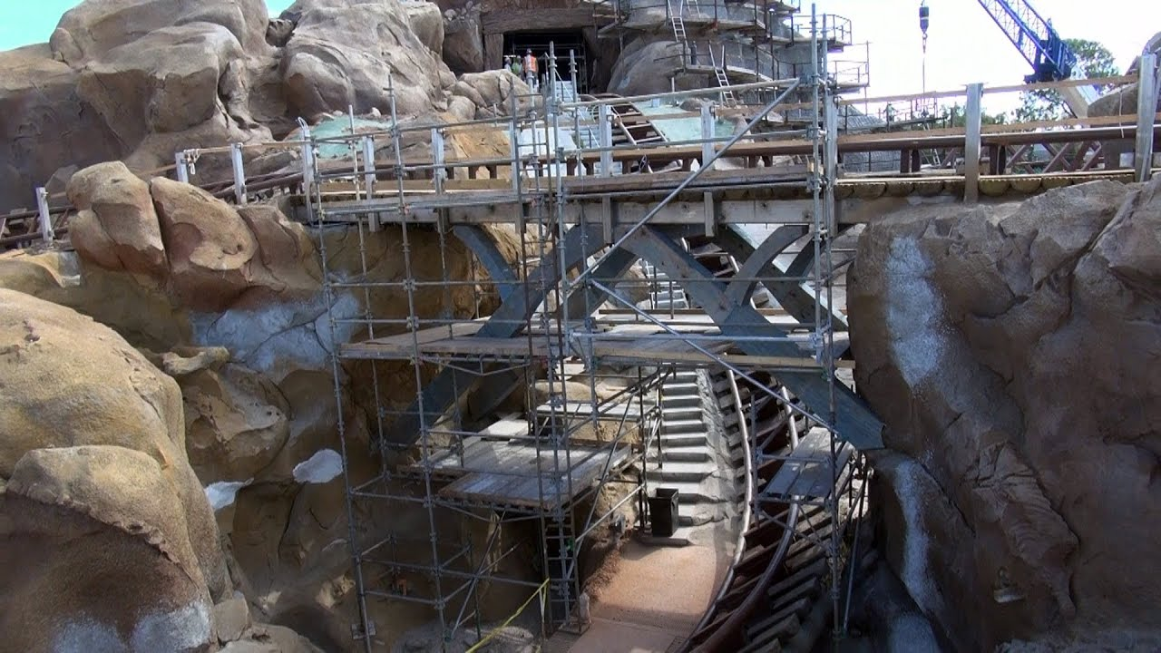 7 dwarfs mine train coaster povidone