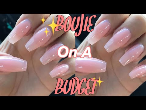 DIY SALON NAILS | How I do my nails at home for CHEAP !