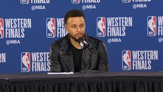 Steph Curry postgame reaction | Warriors vs Blazers Game 4 | 2019 NBA Playoffs